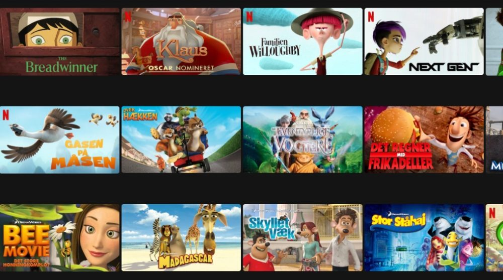 Netflix familie animation Disney Plus / Filmz.dk