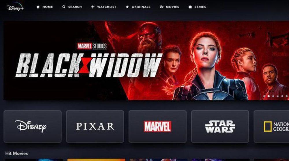 Black Widow Disney Plus Netflix / Filmz.dk