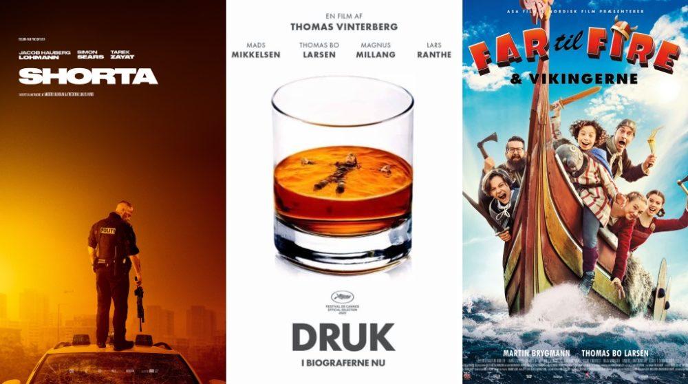 Danske film rekord efterårsferien uge 42 biografer 2020 / Filmz.dk