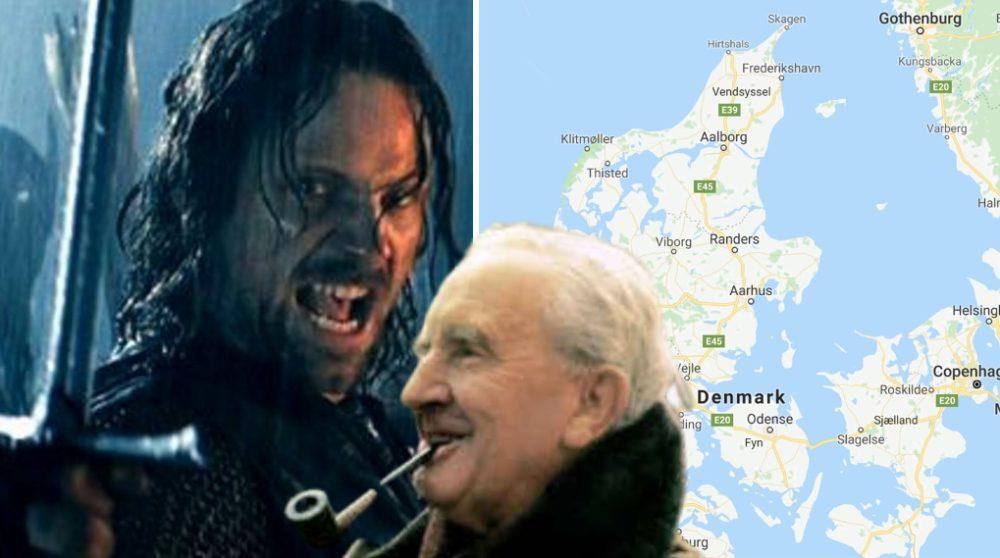 Ringenes herre Tolkien Danmark opkaldt / Filmz.dk