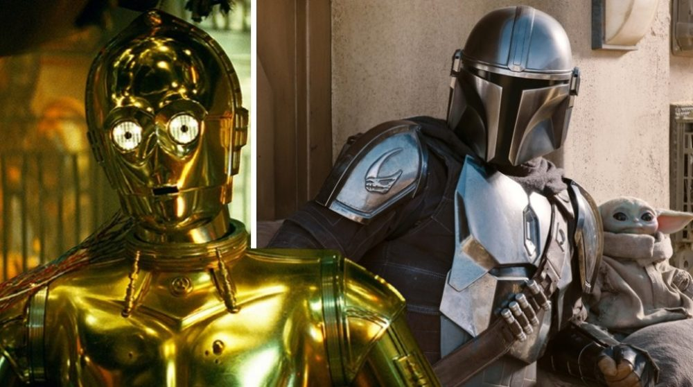 Anthony Daniels C-3PO The Mandalorian / Filmz.dk