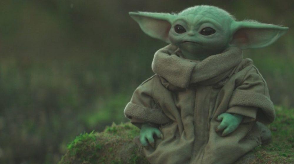 Baby Yoda Grogu Mandalorian / Filmz.dk