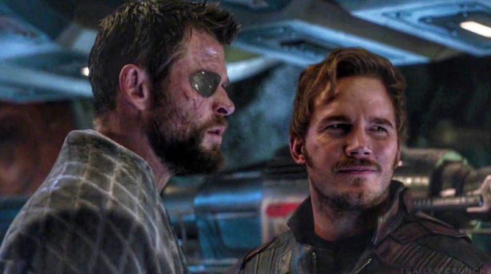 Chris Hemsworth Pratt træning Thor 4 / Filmz.dk
