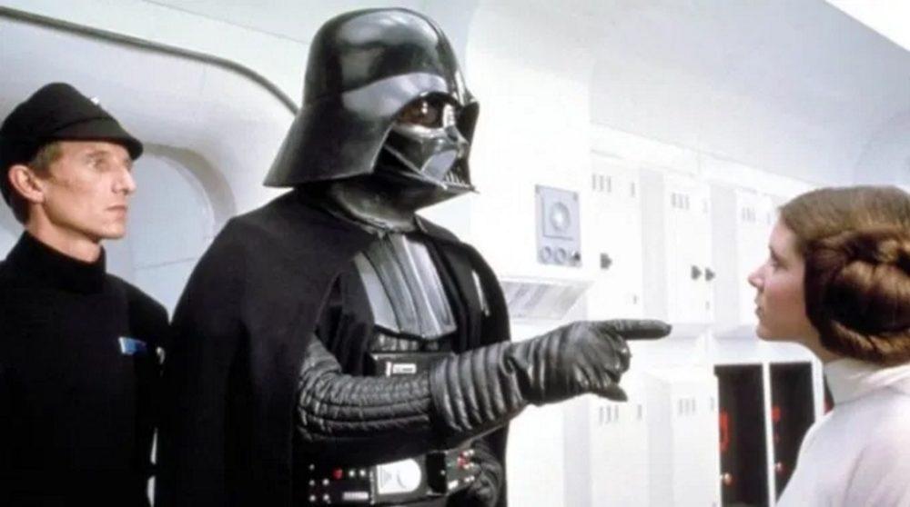 David Prowse Darth Vader corona / Filmz.dk