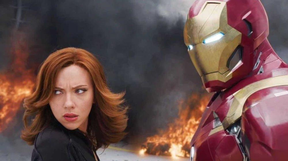 Tony Stark Black Widow MCU / Filmz.dk
