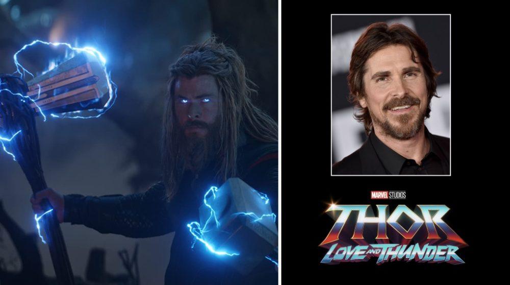 Christian Bale rolle skurk Thor love thunder / Filmz.dk