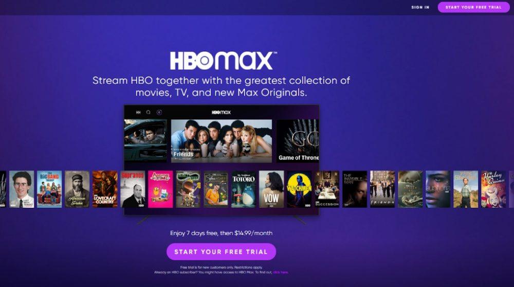 HBO Max gratis prøve 7 dage test / Filmz.dk