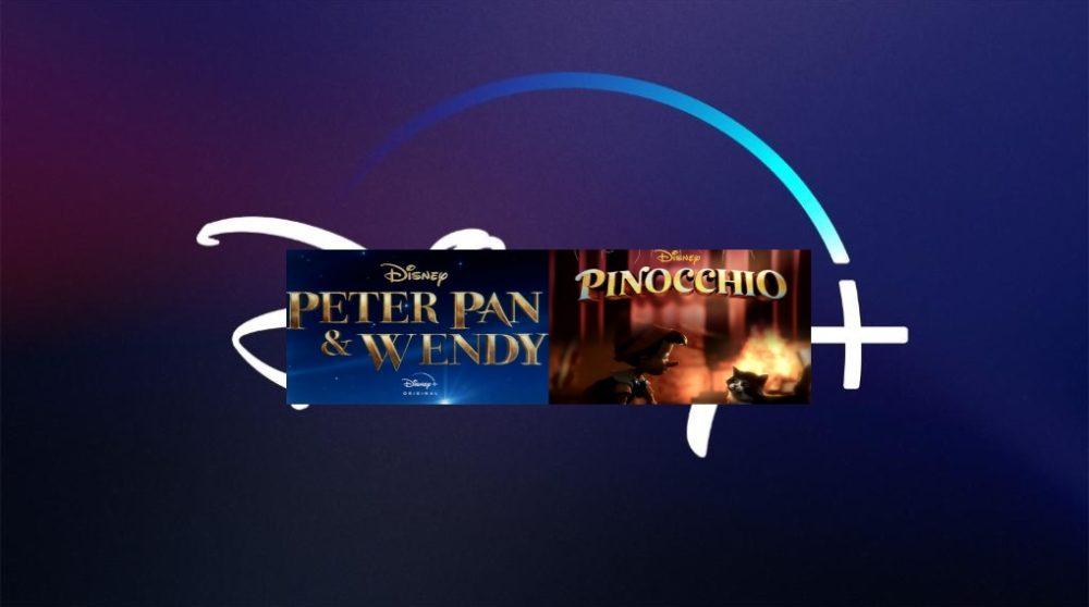 Pinocchio Peter Pan Wendy Plus / Filmz.dk