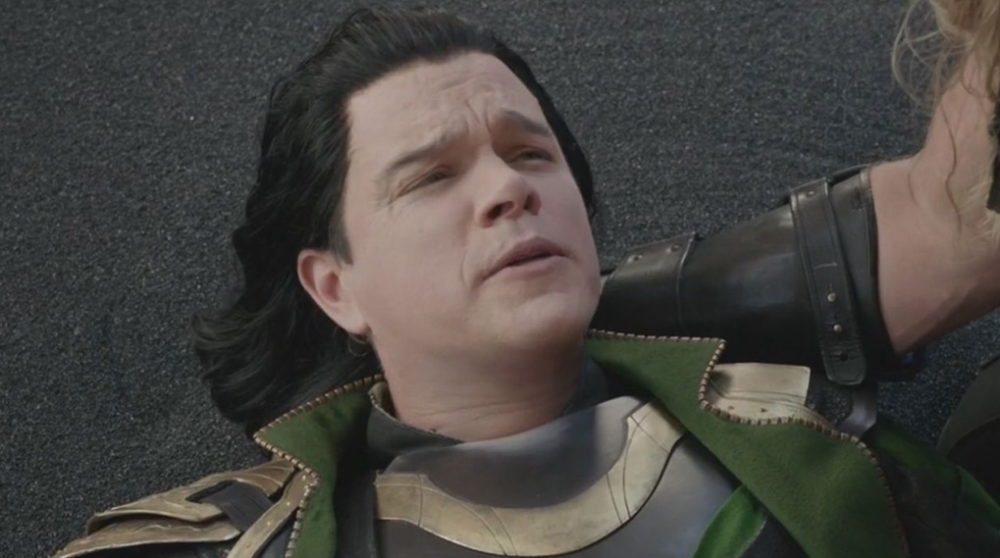 Thor Ragnarok Matt Damon / filmz.dk