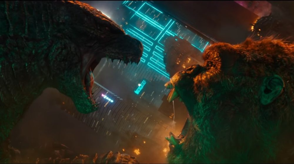 Godzilla vs kong mechagodzilla / filmz.dk