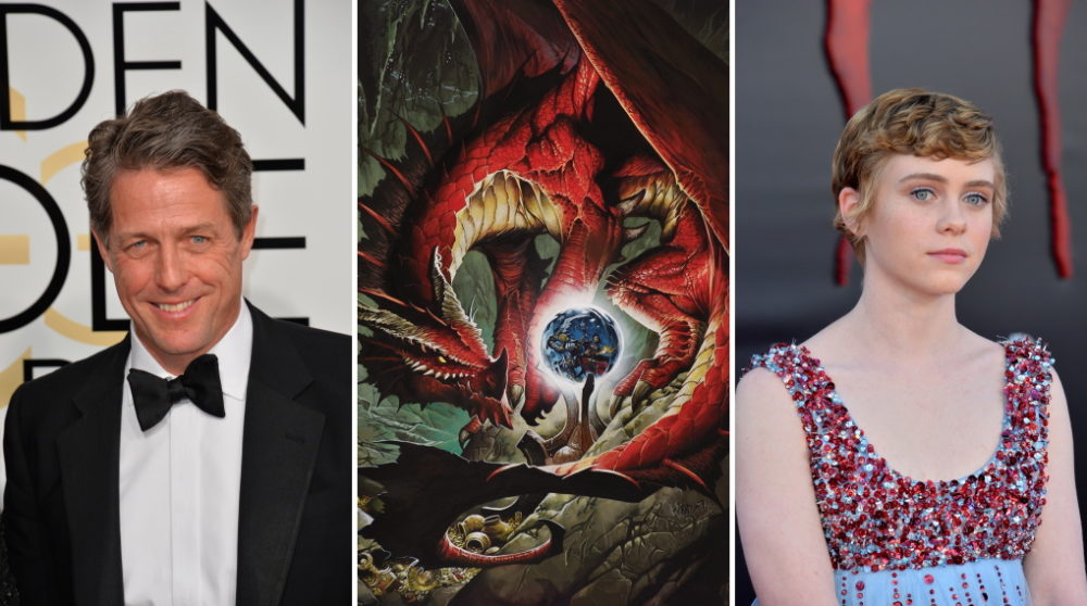 Hugh Grant Sophia Lillis Dungeons & Dragons / filmz.dk
