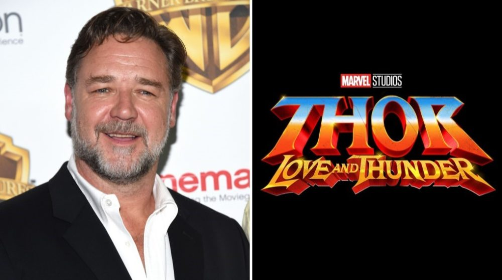 Russell Crowe Thor love and thunder ny / filmz.dk