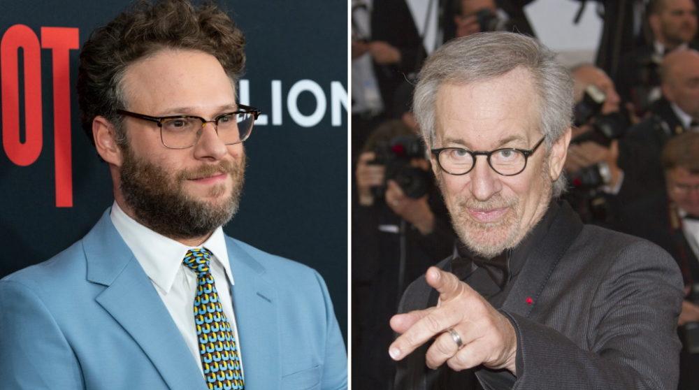 Seth Rogen Steven Spielberg / filmz.dk