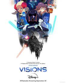star wars visions poster / filmz.dk